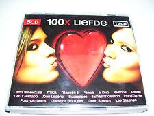 100x Liefde * 5CD BOX TV CD  EU 2008  *