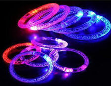 SHCA Blinking LED Flash Bracelet Colorflu Color Changing Party Club Stage