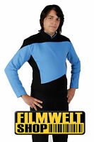 STAR TREK Uniform blau - Nexrt Generation BW XL - super deluxe neu