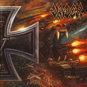 """VADER - IRON TIMES - LIMITED SILVER VINYL 10"""", TO 300 COPIES"""