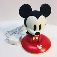 Disney Mickey Mouse Phillips SoftPals Rechargable Night Light LED with Charger
