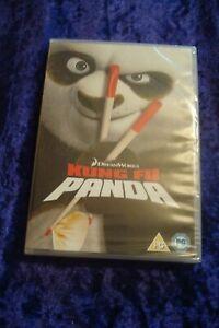 Kung Fu Panda (DVD, 2008).UK REGION 2 DVD.KIDS FAMILY.DREAMWORKS.JACK BLACK.NEW.