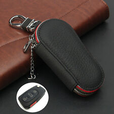 Universal Car Remote Control Key Fob Holder Bag Case Cover PU Leather Keybag New