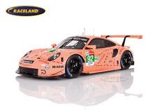Porsche 911 RSR Sau Le Mans 2018 1° GTEPro Christensen/Estre/Vanthoor Spark 1:18