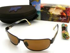 NEW Maui Jim BLACK CORAL Matte Bronze & HCL Bronze Polarized H249-19M