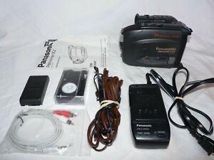 PANASONIC PV-A207 Compact VHS VHSC VHS-C Camcorder VCR Player Video Transfer