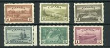 Canada 1946 Peace Re-conversion postage set to $1 SG401/6 MNH
