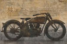 VINTAGE INDIAN MOTORCYCLE ART PRINT - Ride by Dylan Matthews 36x24 Bike Poster