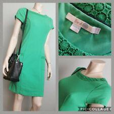 BODEN UK 10R Green Cap Sleeve Ponte Dress VGC