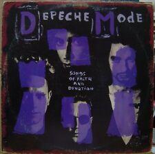 DEPECHE MODE 1993 Songs Of Faith And Devotion SCARCE Vinyl + Insert LP BRAZIL