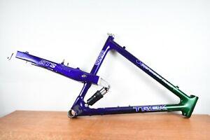 """Vintage Trek 9500 Full Suspension Carbon Fiber Mountain Bike Frame 20"""""""