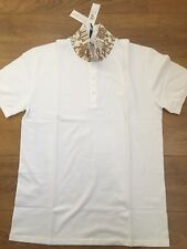Versace Versus Blanco Medusa Polo Camiseta pattered Collar XXL | Jeans Top Sneakers