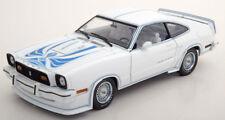 1:18 GreenLight Ford Mustang 2 King Cobra 1978 White/Blue