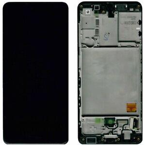 Original Samsung Galaxy A41 A415F Rahmen Display Touchscreen Schwarz