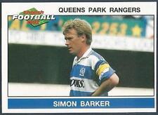 PANINI FOOTBALL 92-#187-QUEENS PARK RANGERS-SIMON BARKER