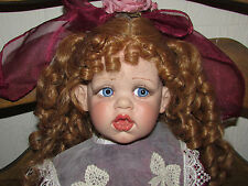 "This is a  Fayzah Spanos Original ""Rose"" Doll 1996 Collection with Box and COA"