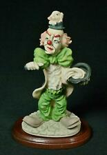 Vintage MIC Resin Hobo Clown Figurine 1970's
