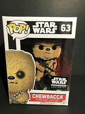CHEWBACCA (FLOCKED) FUNKO POP! Star Wars 63