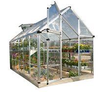 Palram 6x12 Snap & Grow Hobby Greenhouse Kit - Silver (HG6012)
