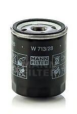 Filtro OLIO W713/28 MANN 5007165 5020120 LPW100180 8671000496 AHU2880 di Qualità Nuovo