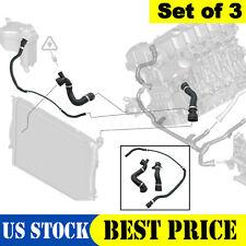 For Bmw 325i 328i 330i Lower Upper Radiator Coolant Hose Vent Line Hose Set