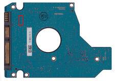 Controladora PCB toshiba mk2555gsx g002439 unidades de disco duro electrónica