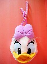 Tokyo Disney Daisy duck face shape coin purse Shoulder Pass holder Japan new