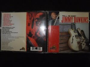 CD JIMMY DAWKINS / TELL ME BABY /