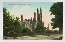 Postcard Metropolitan Methodist Church Toronto Canada