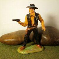 Original Hausser Elastolin 7cm COWBOY/SHERIFF naturgetreu & handbemalt N°6985