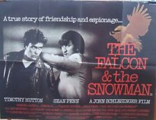 Timothy Hutton THE FALCON AND THE SNOWMAN(1985) Original UK quad movie poster