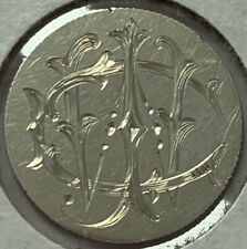1875 Liberty Seated Dime Love Token.