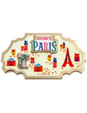 Disney Around The World Member Exclusive Pin 4 Remy Paris Ratatouille DMR New