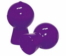 NIPPLE SUCKERS x 2 Pumps SHINY PURPLE BULB Inverted PUMP UK SELLER FAST POST