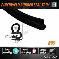 10M Pinchweld Seal Door Edge Protector Rubber Moulding Trim For Ford Falcon XD