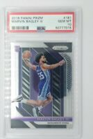 2018-19 Panini Prizm Marvin Bagley III Rookie RC #181, Kings, Graded PSA 10