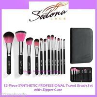 ❤️⭐NEW Sedona Lace😍🔥👍 TRAVEL SYNTHETIC PROFESSIONAL 🎨💋12-Piece Brush Set 💎