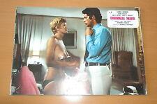 SEXY KARINE SCHUBERT BLACK EMMANUELLE 1975 VINTAGE LOBBY CARD #4