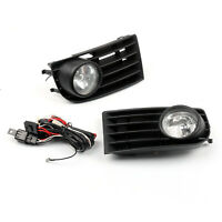 2XFog Lights Lamps Bulbs Grille Grill Set For VW MK5 Golf Rabbit 09 12V 55W A01