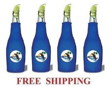 Corona Extra Parrot 4 Beer Bottle Zip Up Cooler Huggie Coozie Coolie Koozie New
