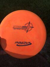 Super Swirly Orange swirled Pfn Star Orc Innova Disc Golf New 175g Golf Disc