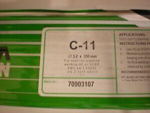 C-11 6011 3.2mm x 350mm x 2kilo Arc Welding Electrodes / Rods / Stick