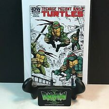 Teenage Mutant Ninja Turtles SDCC Ashcan Mini Comic Book IDW NM Eastman
