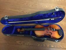 1/8 Violin Anton Breton AB-10 1995 Made in China Used with Hard Case and Bow
