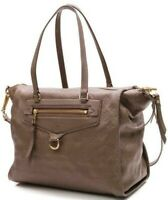 Louis Vuitton Monogram Empreinte Lumineuse PM Taupe Leather Satchel w/Bag Charm