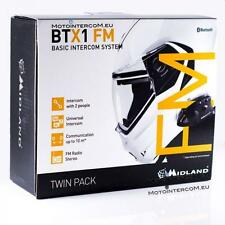XIT BTX1 FM TWIN PACK MIDLAND INTERCOM BTX1FM