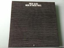 6 LP Germany 1988 NM M  Philip Glass – Music In Twelve Parts Label: Venture