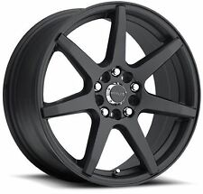 15x7 Raceline 131B-Evo 5x100/5x114.3 ET40 Black Wheels (Set 4)