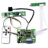 HDM I VGA 2AV LCD driver board for 13.3inch 1280x800 B133EW07 LP133WX2 lcd panel
