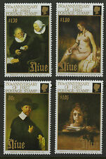 Niue  1990   Scott #   582-585     Mint Never Hinged Set